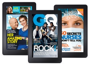 Print-digital transition for magazines